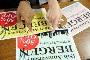 片面印刷チラシと両面印刷チラシの使い分け方